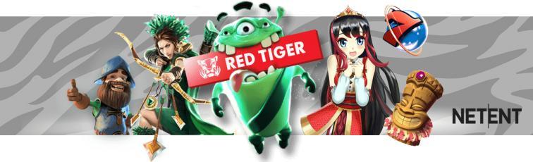 NetEnt und Red Tiger