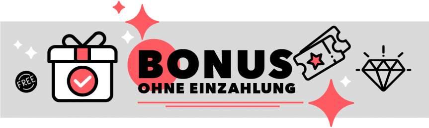 Online Casino Bonus ohne Einzahlung