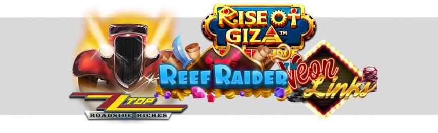 Neue Slot Angebote der verschiedenen Spieleentwickler
